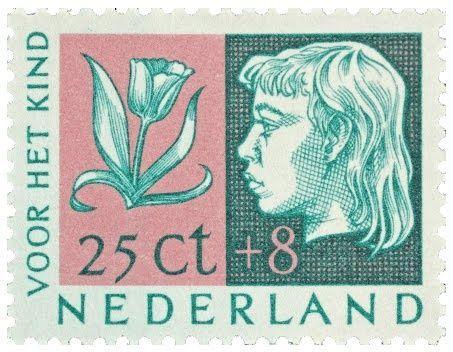 Dutch kids stamp