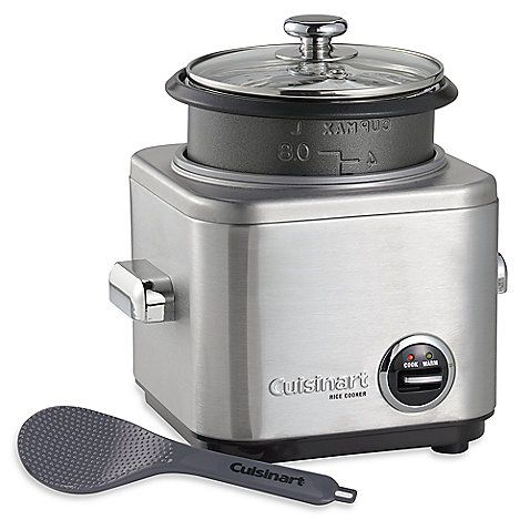 Cuisinart® 4-Cup Rice Cooker  - everyone thinks this is the secret to making good rice