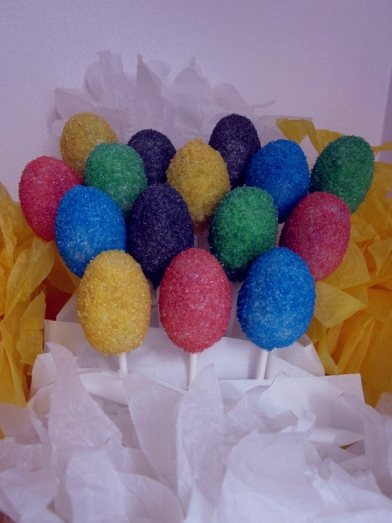 Easter Egg Cake Pops www.thecakepopbakery.com.au