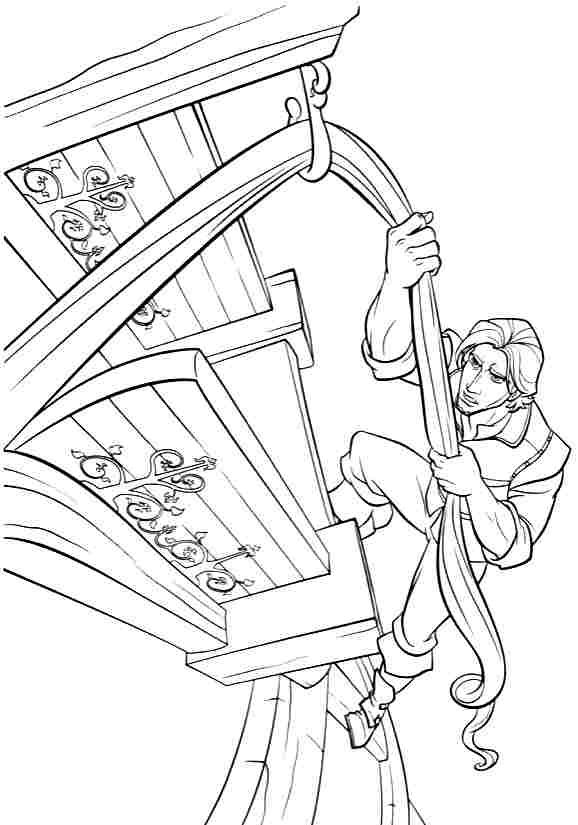 91 best Tangled coloring pictures for Jacey images on Pinterest ...