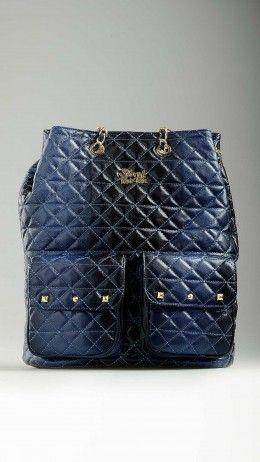 Blue Doda Warpaint bucket bag