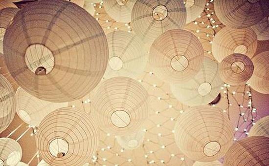 des lanternes chinoises en papier lot de 104 en vente. Black Bedroom Furniture Sets. Home Design Ideas