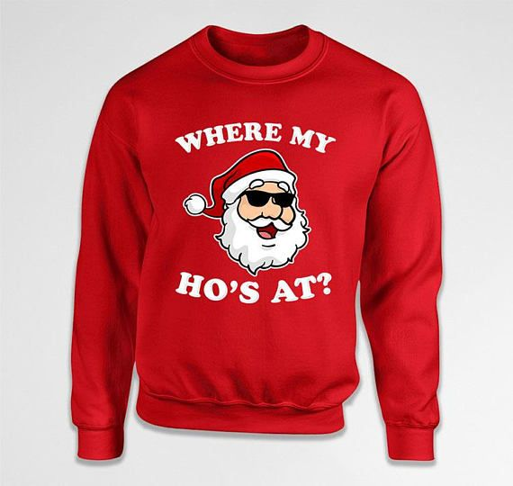 Funny Christmas Sweater  Welcome to ShirtCandy! Here youll find awesome Graphic Ts, Sweaters, Baby One Pieces & more! With quality ink to garment prints & eco-friendly inks, your skin will feel great, and look good too!   ~~~~~~~~~~~~<( These Sweet Deals Are My Way Of Saying Thanks