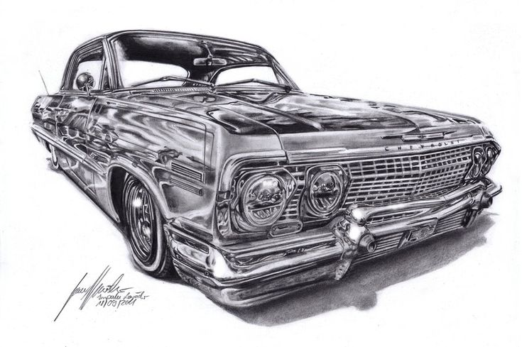 Chevrolet Impala Lowrider by Lowrider-Girl on DeviantArt