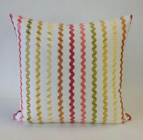Daniel Stuart Studio - Toss Cushions - Still Water / Coral Pink