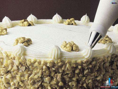 Крем для украшения тортов