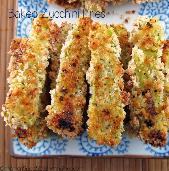 BAKED ZUCCHINI FRIES WITH ONION DIPPING SAUCE - They are dipped in egg and covered with a bread crumb mix made of panko, parmesan, flour and Italian seasonings. The oven is where the magic happens. The crumbs form a crispy outer coating that gives way to soft and creamy middles. The caramelized onion dipping sauce (onions + sour cream + mustard + vinegar + honey) elevates them to delicious new heights and adds to their addictive qualities.