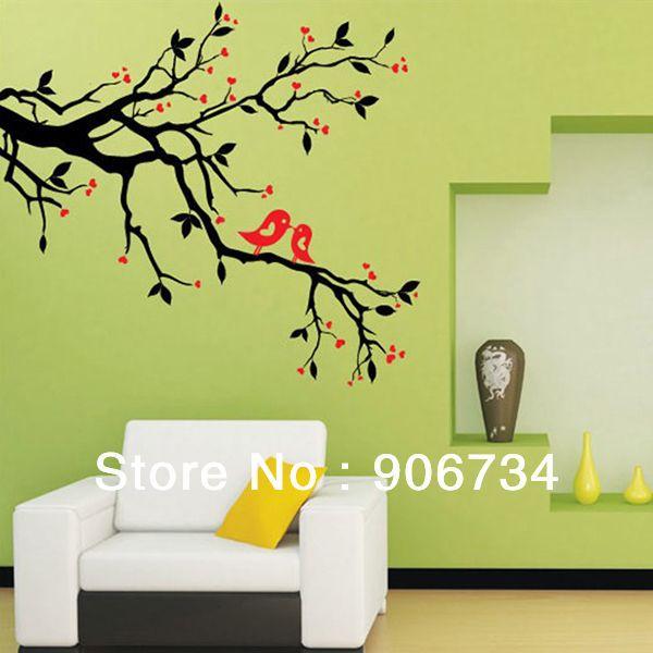 Fabulous g nstig direkt vom chinesischen Anbieter kaufen Hochwertige kunst wandbild wohnkultur abnehmbare vinyl wandtattoo aufkleber