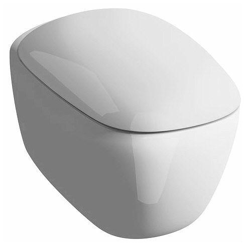 Keramag Citterio Wand-Tiefspül-WC spülrandlos 203570000 - MEGABAD