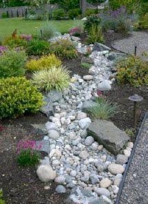 Using rocks in landscape