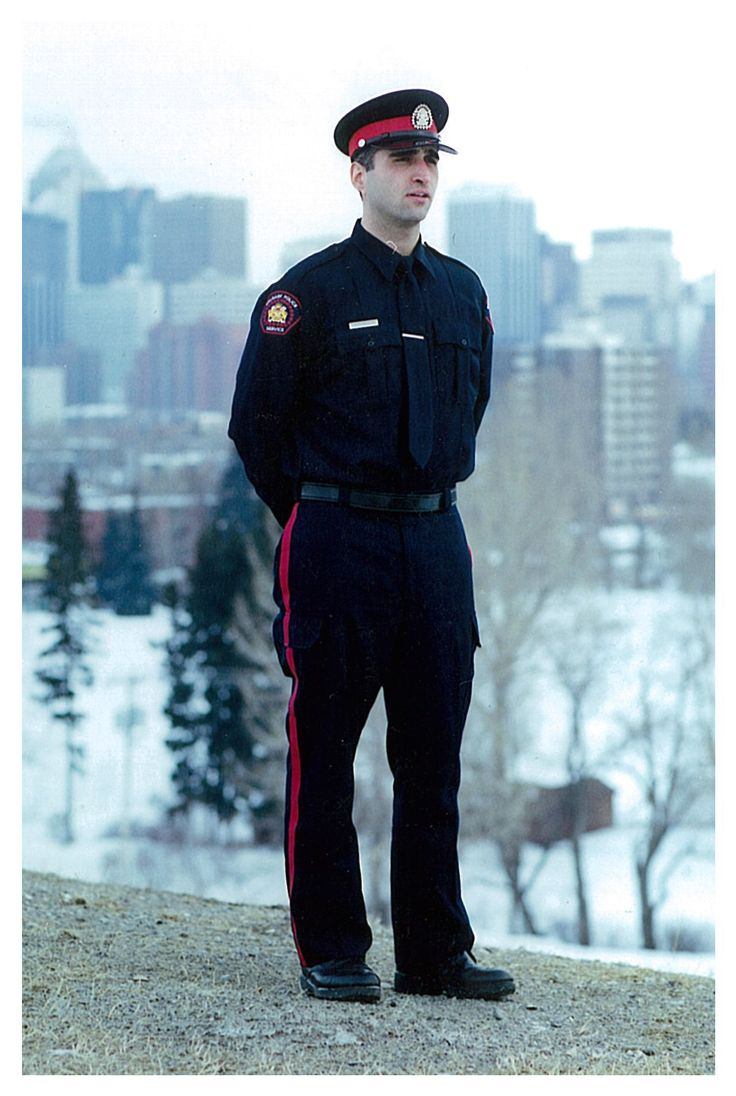 Calgary Police Service Const. John Petropoulos