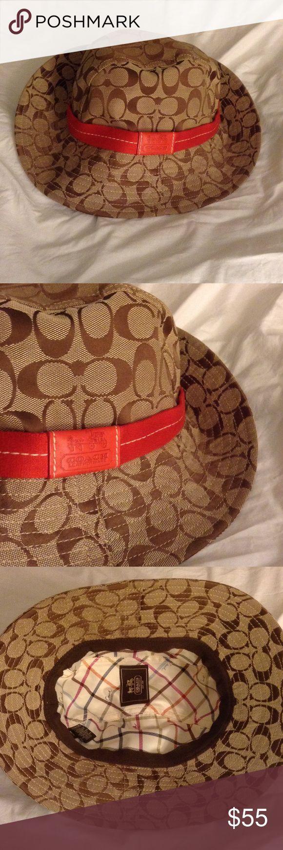 Coach hat Coach hat. Super cute. Great condition! Coach Accessories Hats