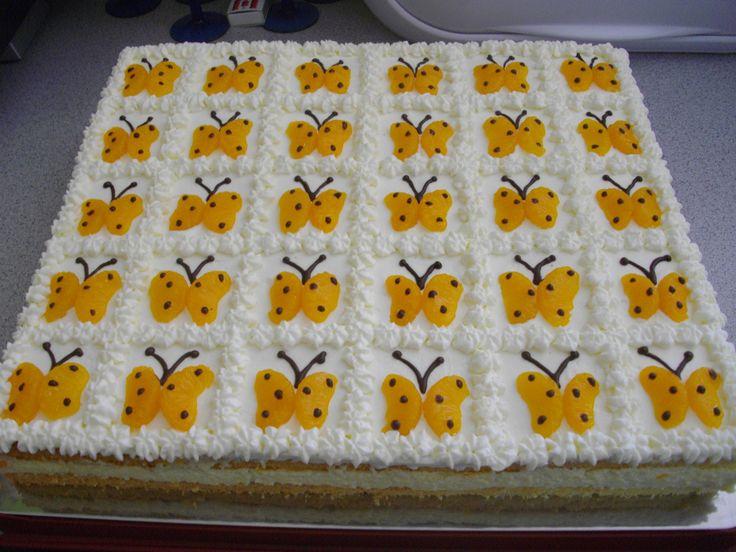 Schmetterling`s Torte  Kindergeburtstag  Pinterest  Torte