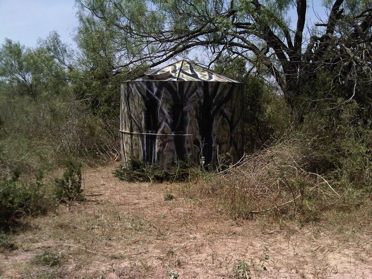 Water Tank Bow Blind 2coolfishing Hunting Blinds Bow