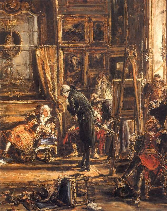 Jan Matejko, Konstytucja 3 Maja. Sejm Czteroletni. Komisja edukacyjna. Rozbiór. R.P. 1795, (fragment)
