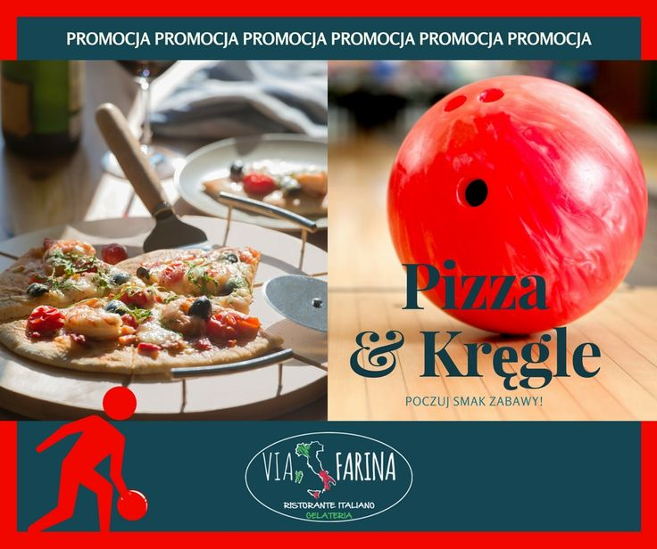 ☛ TYLKO W PIĄTEK I SOBOTĘ, GODZINA KRĘGLI + PIZZA ROMA 50 CM = 59 ZŁ ☚  Przyznaj, tego nie można przegapić :)  SERDECZNIE ZAPRASZAMY ☛ http://www.viafarina.pl/ ☚ :)  #restauracja #restauracjawłoska #niepołomice #i #okolice #kraków #wieliczka #pizza #italia #menu #obiad #lunch #goodfood #slowfood #italianfood #food #kręgle #pysznejedzenie #zaproszenie #spaghetti #cena #ofertaspecjalna #rabat #zabawa #przyjaciel #rodzina
