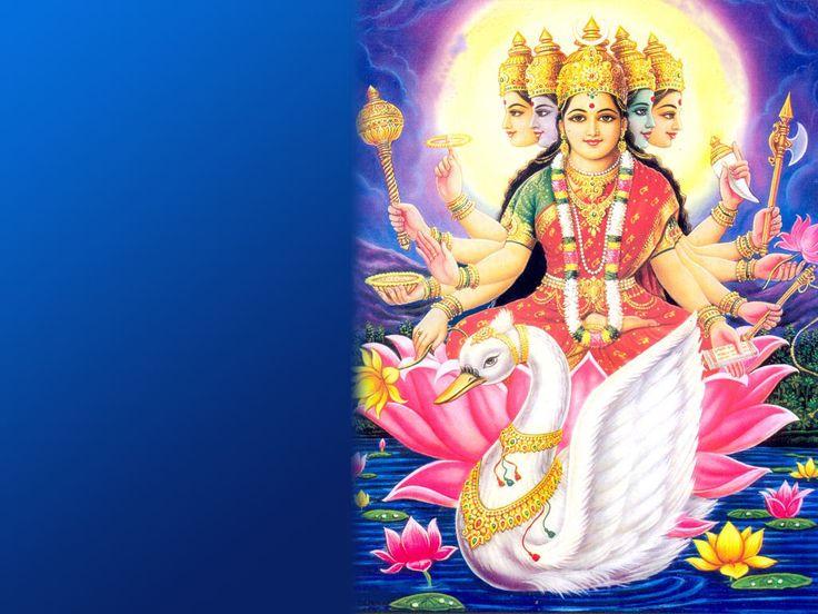 Beautiful Gayatri Maa Wallpapers Collection Free Download