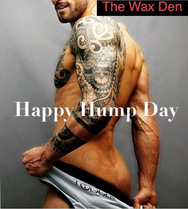 Happy Hump Day! Best place for mens waxing! #humpday