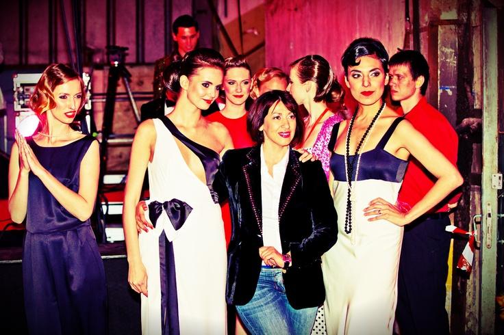 Silk gowns inspiration by fashion designer Oksana Tandit