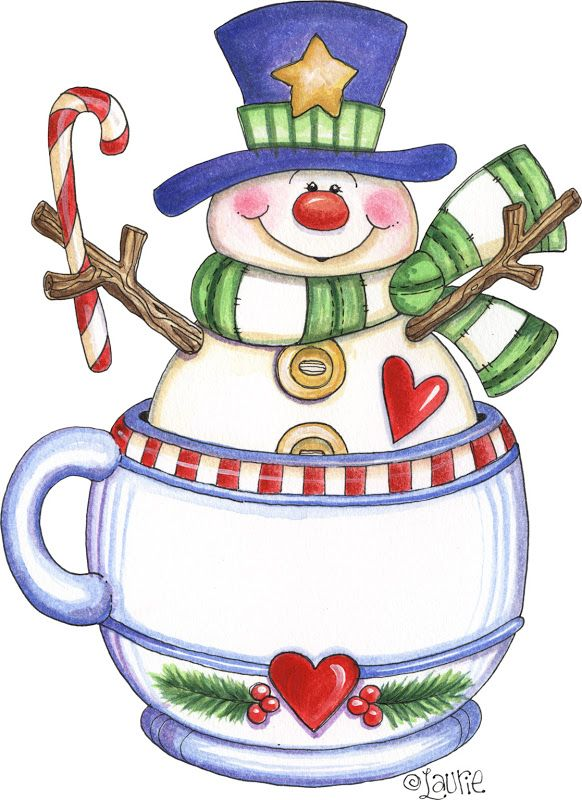 google clip art snowman - photo #42