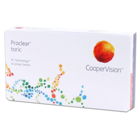 Proclear toric Contact Lenses: The exceptional level of comfort of Proclear Toric lenses is made possible by PC Technology.