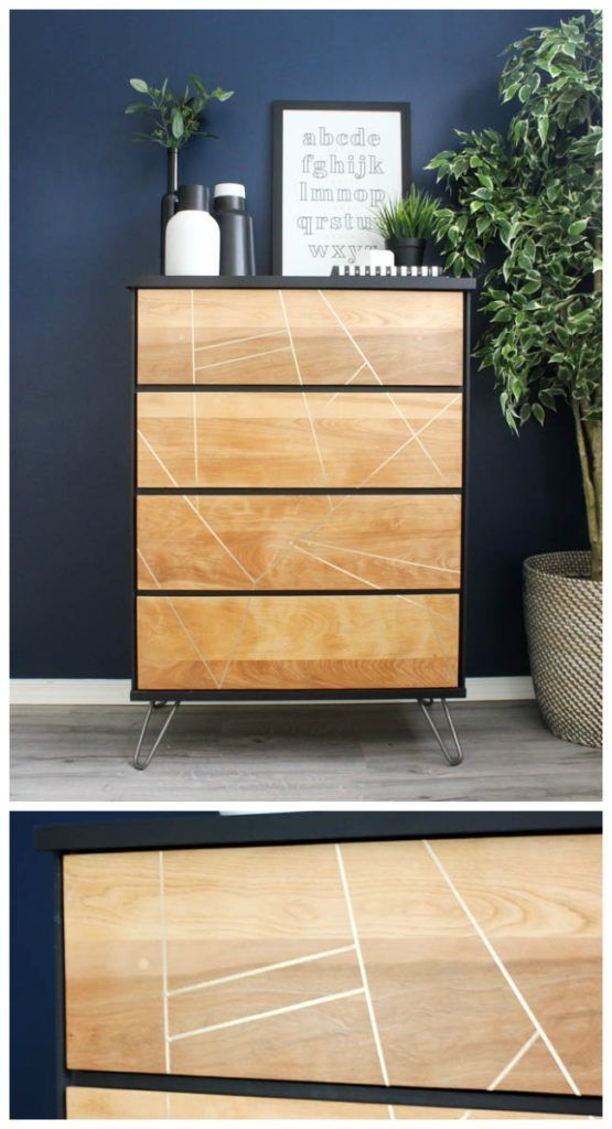 Beautiful Diy Dresser Makeover Take Thrifted Dressers And Turn Them Into Something Modern New With A Sander The Best Paint For Furniture
