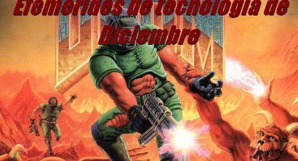 Efemérides de tecnología de Diciembre - Frikipandi