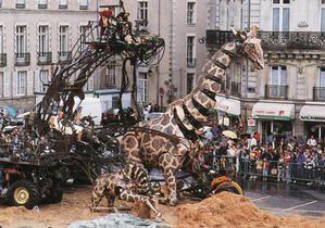 royal de luxe nantes 1990 | Nantes-Les machines etc.....