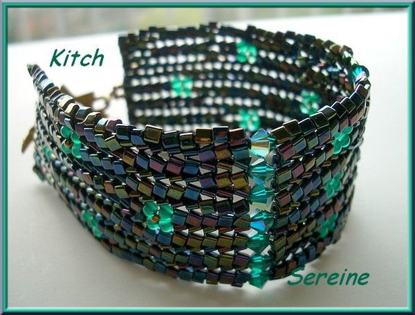 bracelet Kitch de SEREINE En herringbone