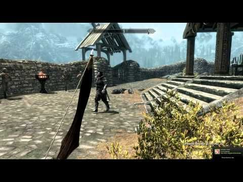 Skyrim Mod of the Day - Episode 77: Diamond Archery Smithing/Crystal of the Damned/Elven Bow - http://huntingbows.co/skyrim-mod-of-the-day-episode-77-diamond-archery-smithingcrystal-of-the-damnedelven-bow/
