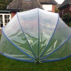 De SunnyTent is een transparante / doorzichtige tent die gebruikt kan worden voor overkapping van je zwembad, zandbak, trampoline en moestuin. Een tent met heel veel mogelijkheden dus.