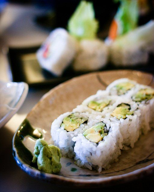 Vegetarian Sushi Rolls - Great British Chefs (or #vegan even)