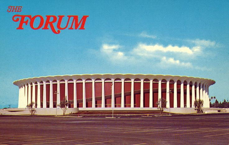 The Los Angeles Forum - When you had to spend the night at a venue, to wait in a line to buy tickets for a concert.