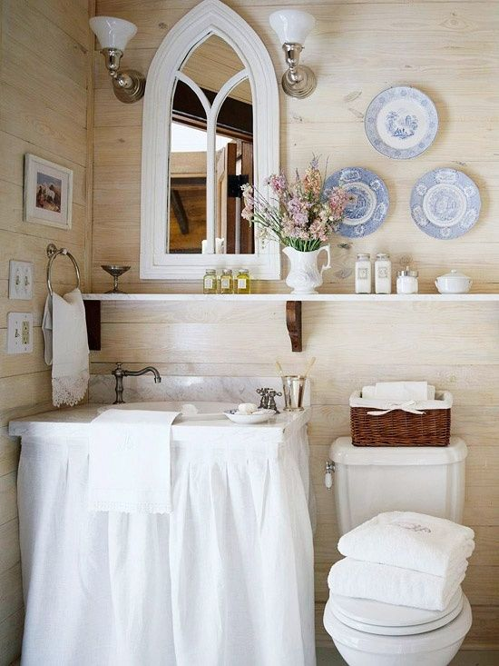 Powder rooms a collection of ideas to try about home for Bathroom upgrade ideas