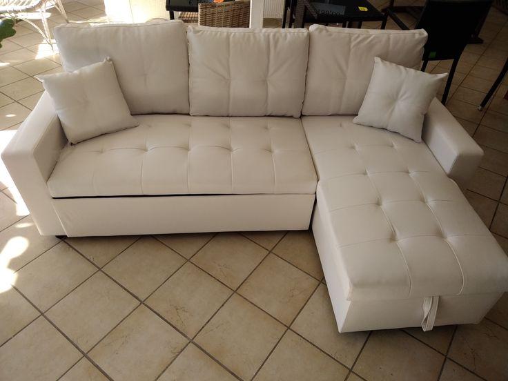 Bellissimo divano letto in eco pelle disponibile nei - Divano smontabile ...