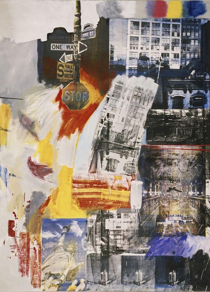 Estate 1963 - Robert Raschenberg