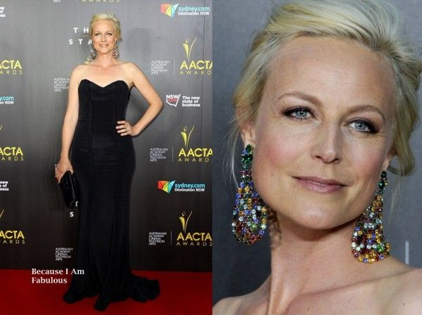Marta Dusseldorp Wearing Pallas Couture - 3rd Annual AACTA Awards