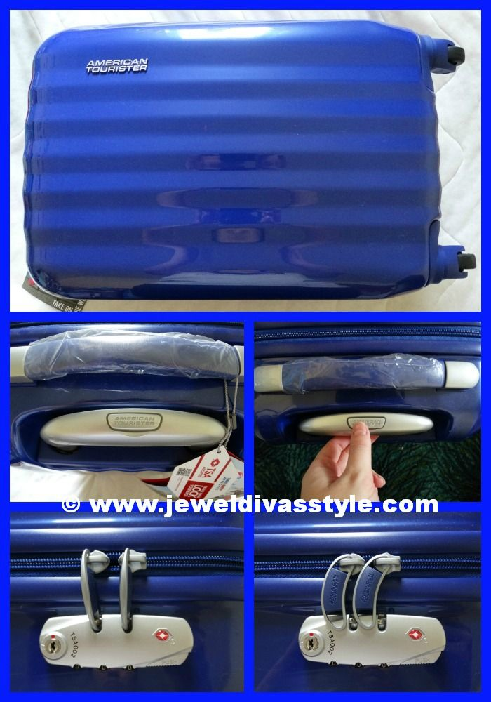JDS - My Brand New American Tourister Suitcase - http://jeweldivasstyle.com/travel-style-my-brand-new-american-tourister-suitcase/