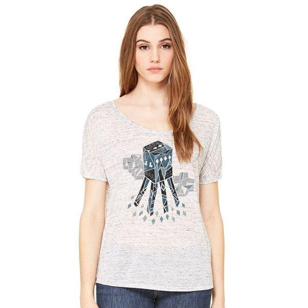 Minecraft Flying Squid T-Shirt - Gamer T-Shirt