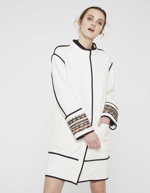 Manteau brodé IKKS femme
