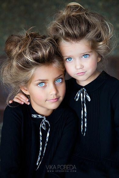 Photography by Vika Pobeda. Models: Ira & Serafima.
