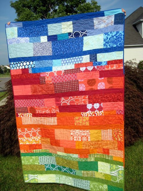 """""""Sedona"""" - A Finished Quilt"""