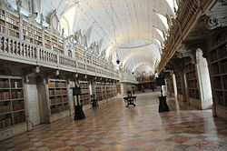 Palácio Nacional de Mafra   Biblioteca