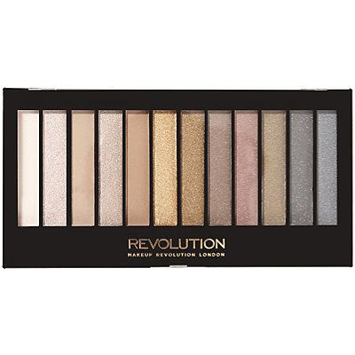 """The best eyeshadow palette that rivals the naked palette is the makeup revolution iconic 1 palette. It has neutrals for an everyday look or an evening look. The best part is its $7."" —sarahrsalles  Get it from Amazon for $7."