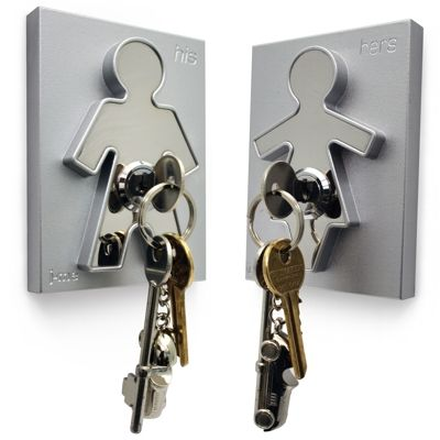 Wieszak na klucze His & Hers - od J Me