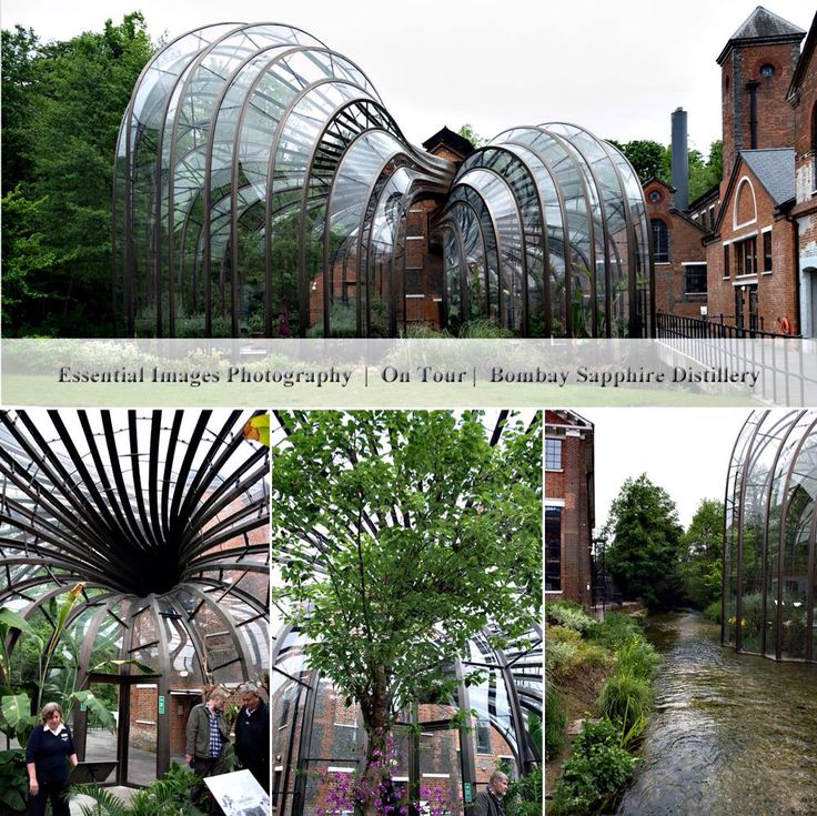 Bombay Sapphire Distillery.  A must to visit.  A great experience.