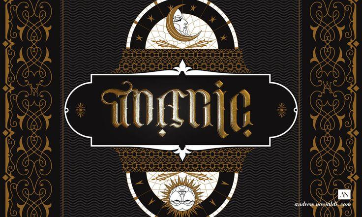 Ambigram Typographic Illusionist Poster Design