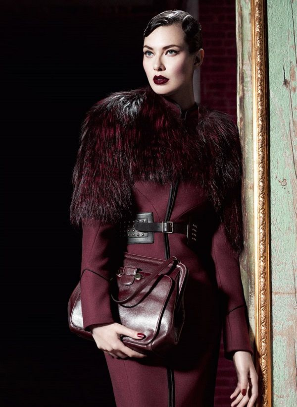 Willy Vanderperre / Jason Wu Camapign Fall 2012.. Burgundy? Wine red? You name it