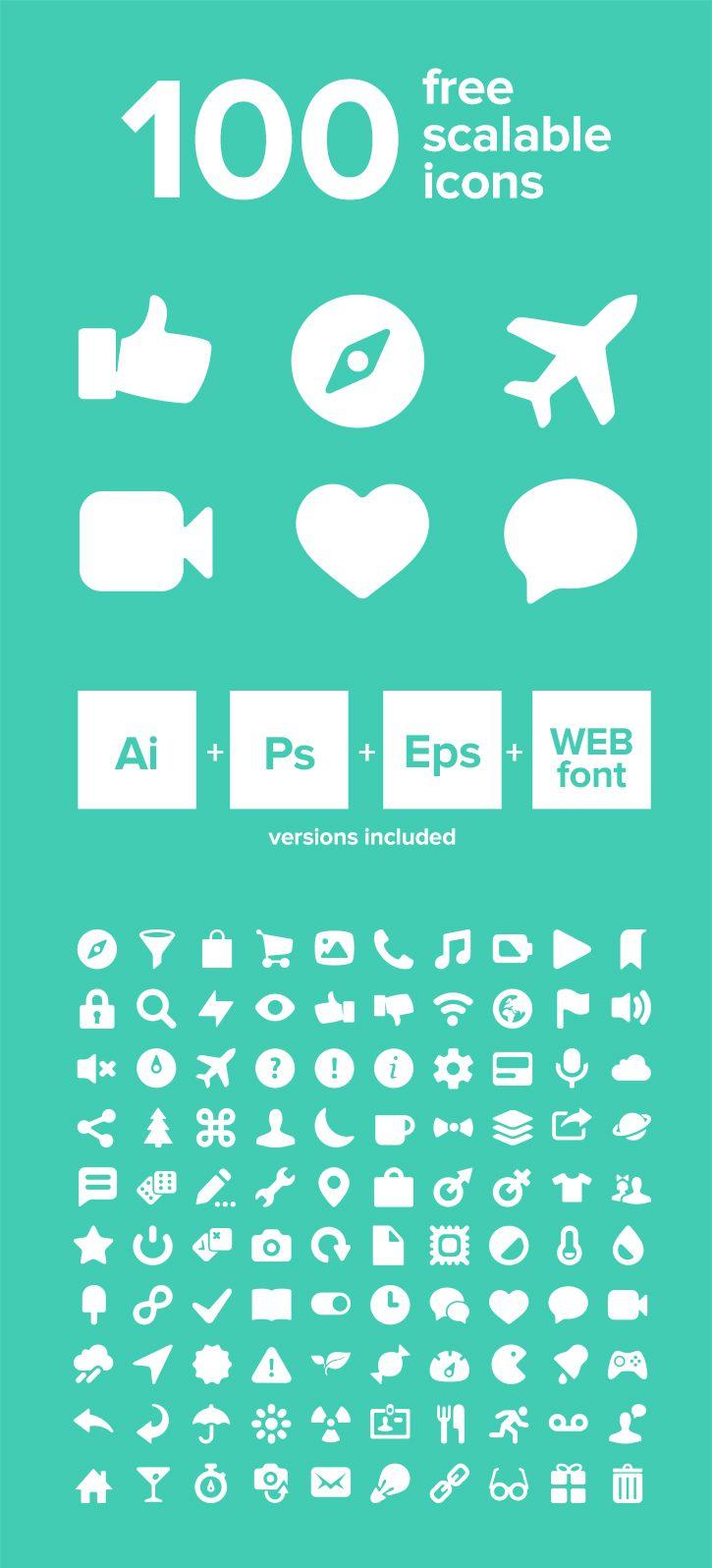 Icony - 100 Free Vector Icons