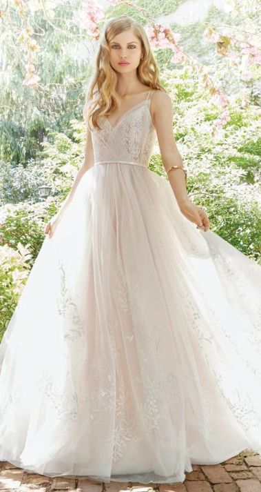 Alvina Valenta Wedding Dresses for Fall 2016. Style 9661.